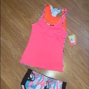 Roxy size small shorts and tank combo!  BNWT!